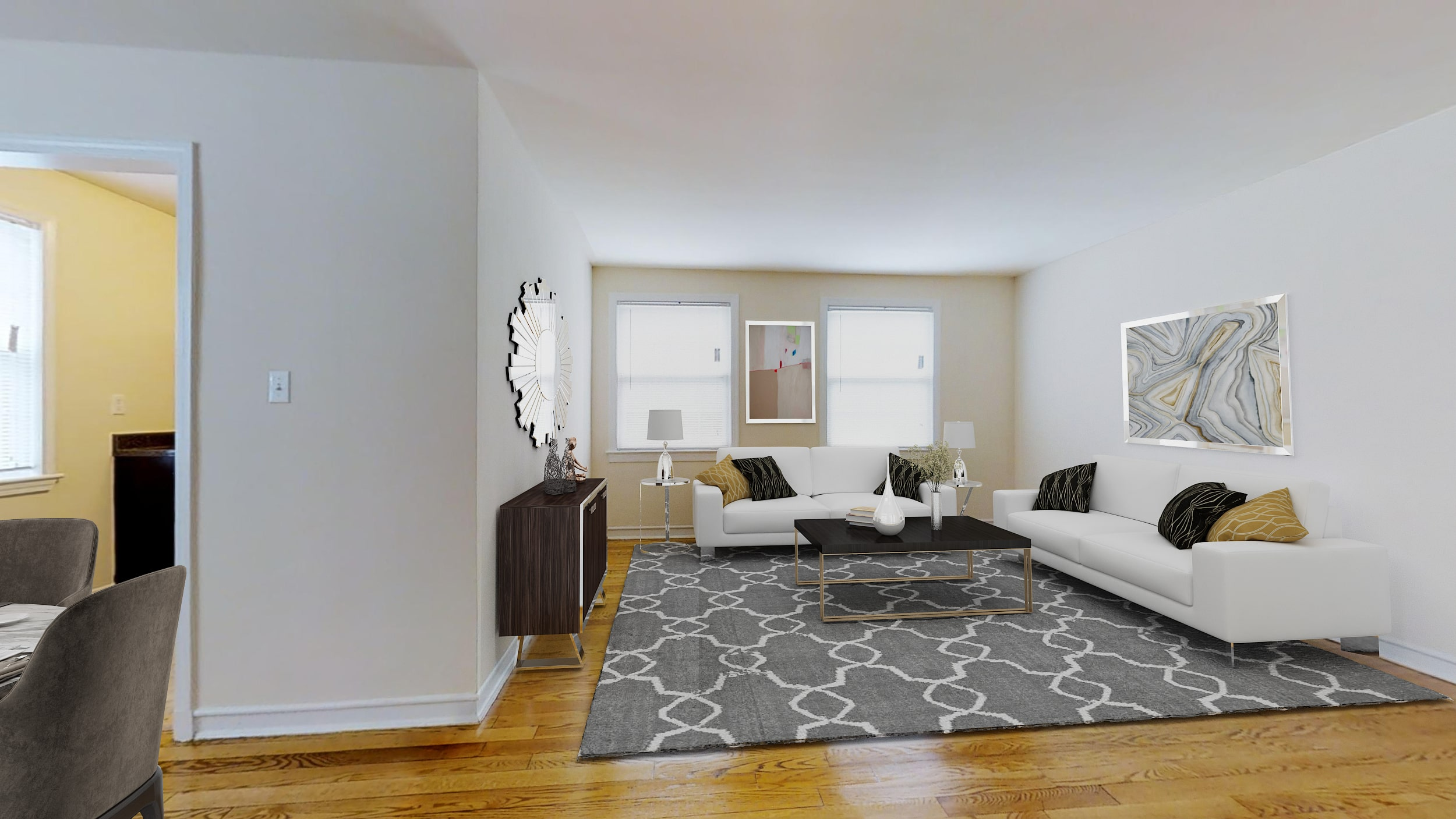 Crescent-Park-Apartments-1-Bedroom-for-Rent-DC-Livingroom-min